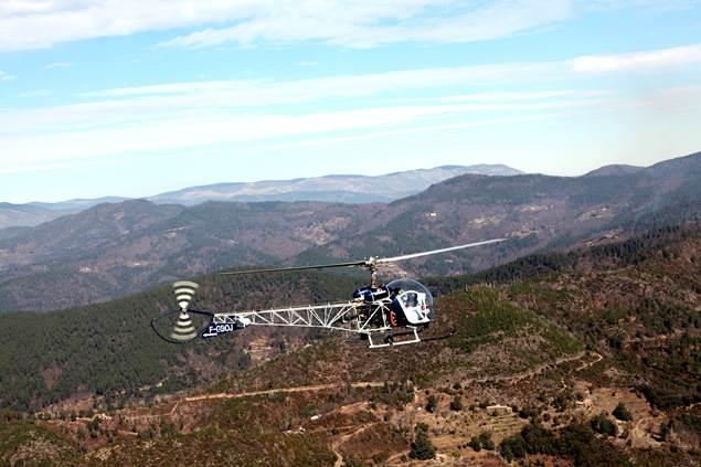 Cévennes hélicoptère St Croix de Caderle 2