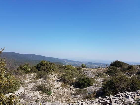 Rocher de Peyremale - vue du sommet