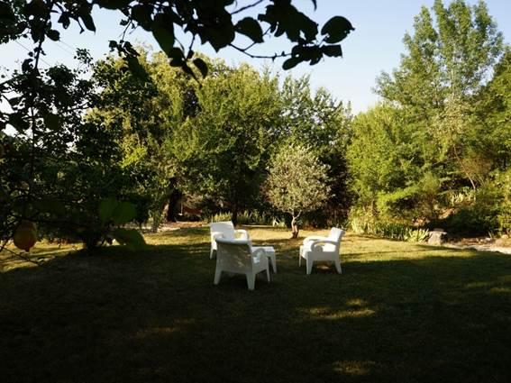chambre d hote mas suejol anduze jardin