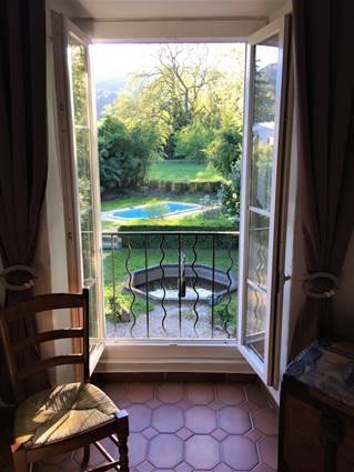 jardin terrasse gite anduze