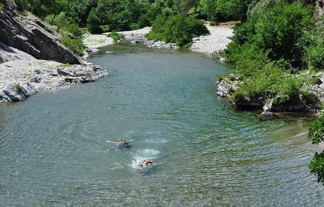 Les coins baignades en Cévennes
