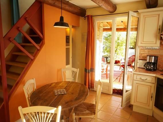 Gite La Clede location Anduze Gard cuisine repas