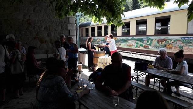 Visite dégustation au Train à Vapeur des Cévennes - Anduze