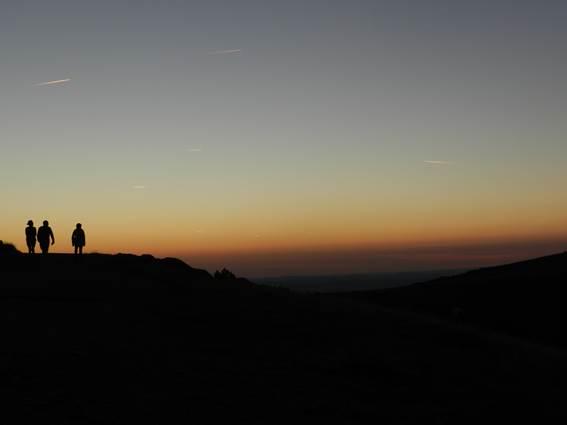 Mont Aigoual - Cévennes coucher de soleil