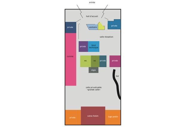 Plan l'apostrophe Location de salle