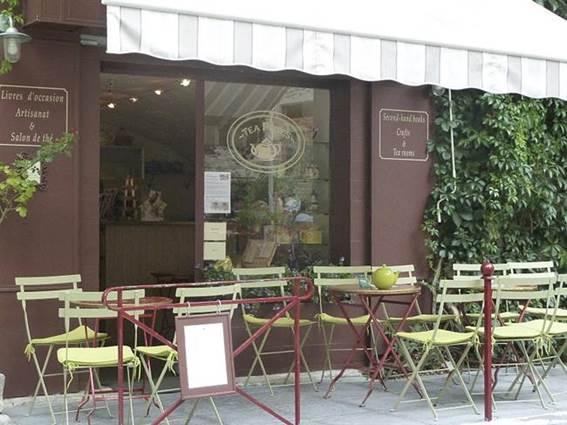 Salon de thé Teapotes terrasse