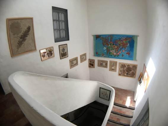 escalier-galerie de Corine