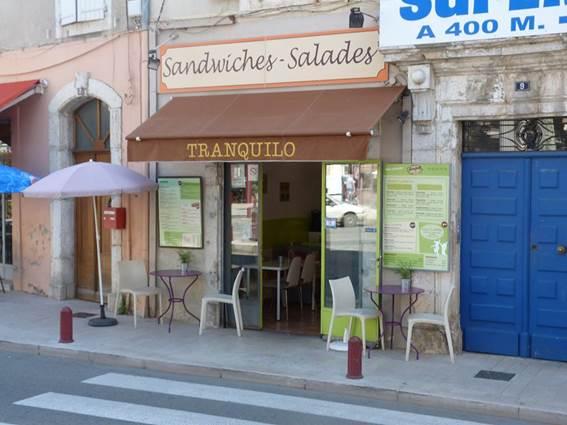 Restaurant Le Tranquilo - ANDUZE
