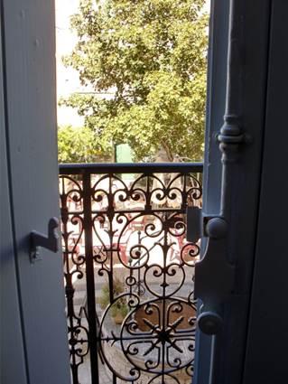 La Maison de Yoshimi à Vézénobres, balcon