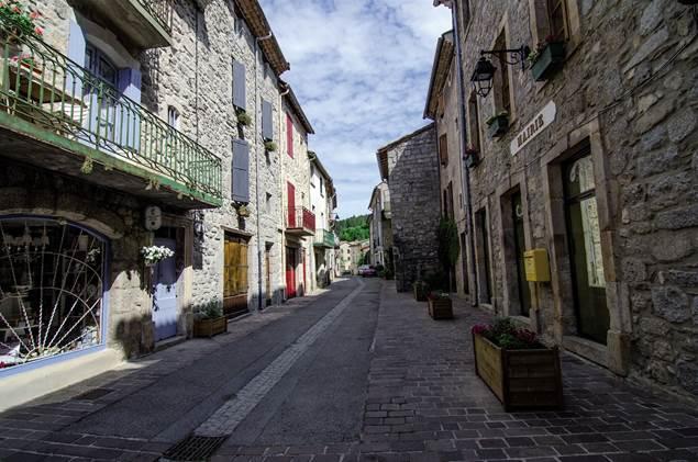 Génolhac, la Grand Rue