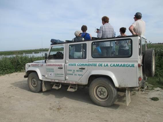 4 X 4 en Camargue avec Pïerrot le Camarguais