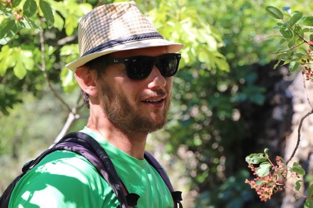 Julien Travier à Mialet