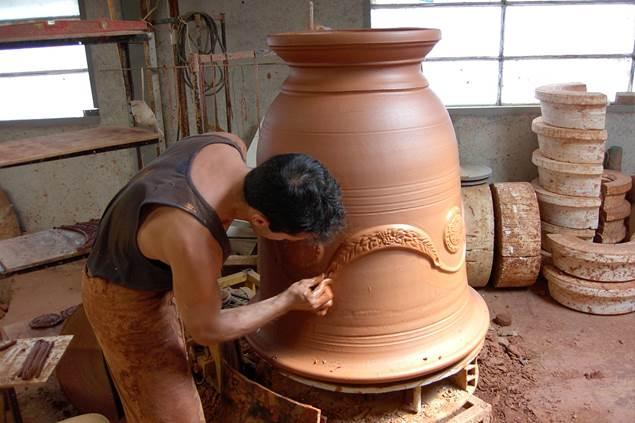 Terre d'Anduze - Vase d'Anduze