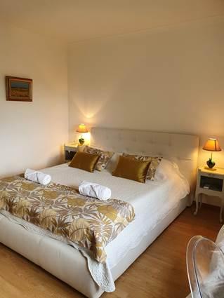 Chambre Jaune lit en 160 cm