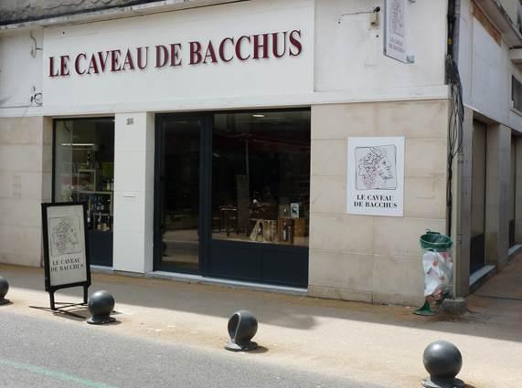 Le Caveau de Bacchus boutique Alès