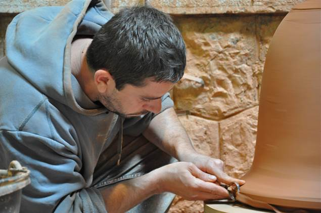 Fabrication Vase d'Anduze Cordeliers
