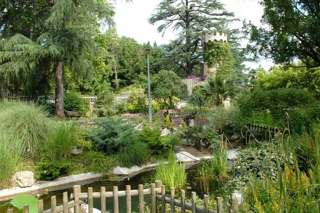 Parc la tour vieille jardin botanique