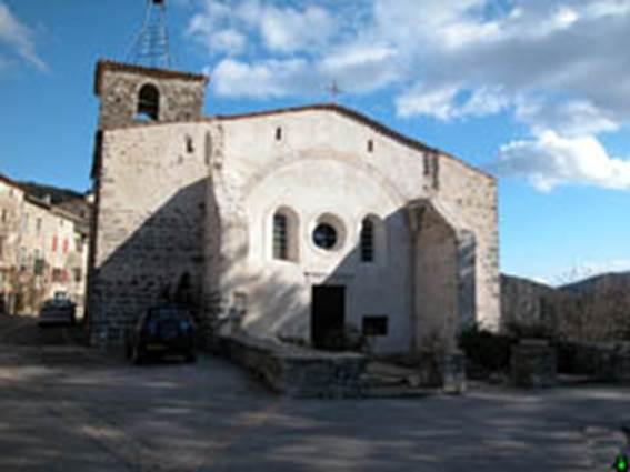 Mialet - Eglise St André