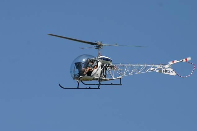 Cévennes hélicoptère - St Croix de Caderle
