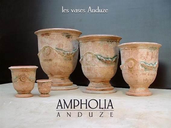 Potier Ampholia vases d'Anduze