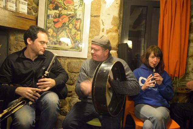 Groupe-Festival Boulegan à l'ostal