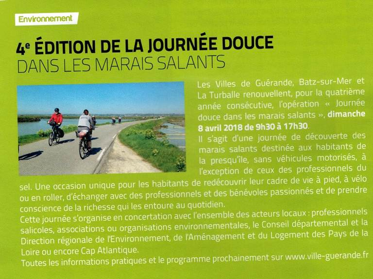 dimanche 8 Avril  tous à vélo ou à pied !