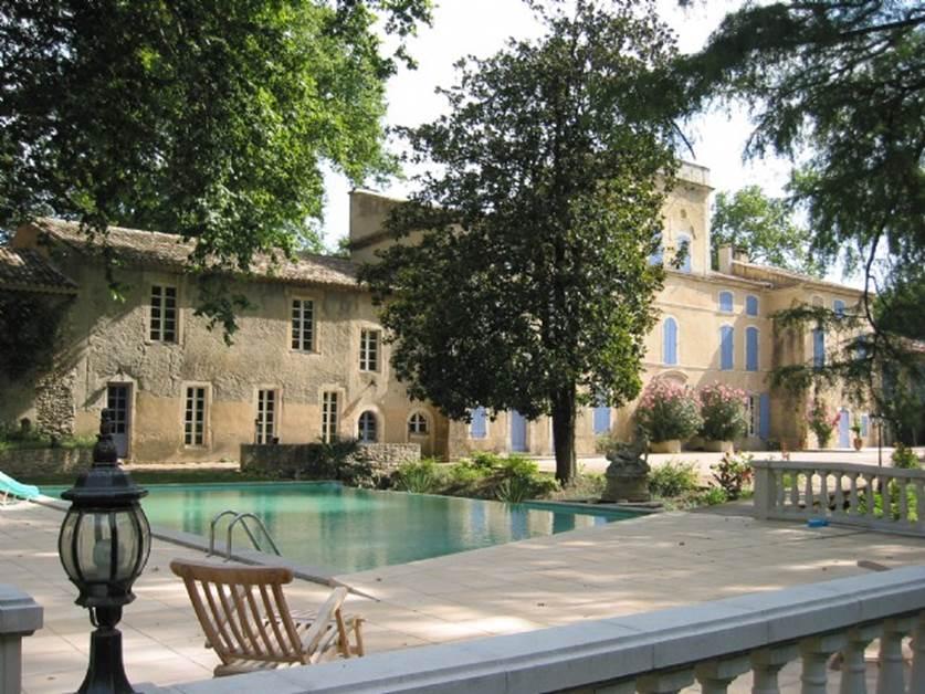Château des Barrenques - vue terrasse