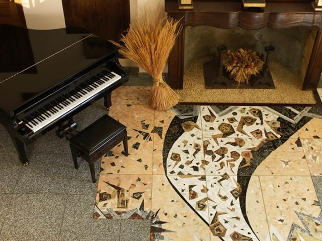 Château de Projan le piano