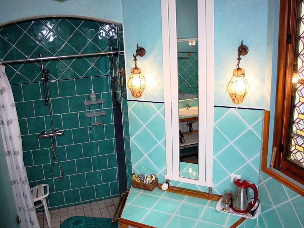 Chambre Montlouis salle de bain douche