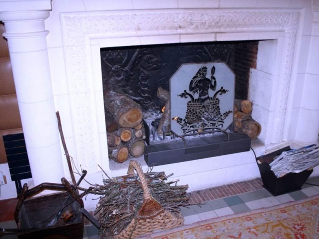 fumoir cheminee