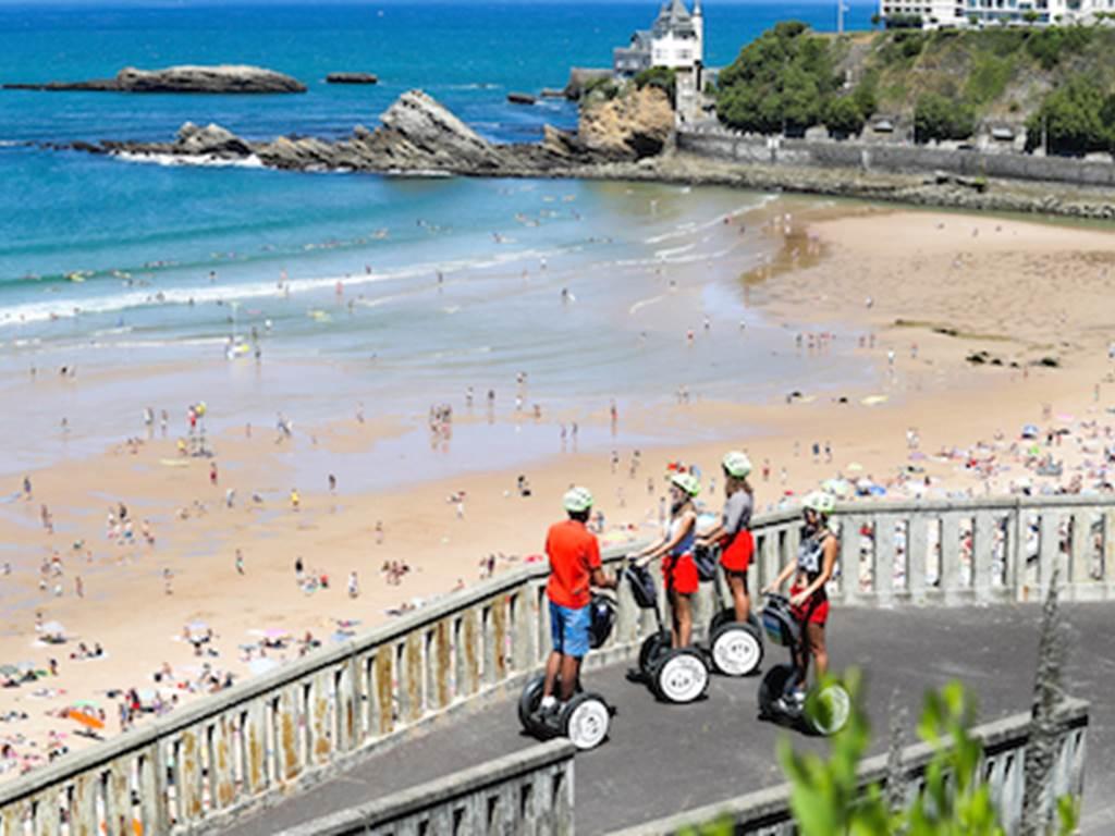 Mobilboard Biarritz La cote des basques