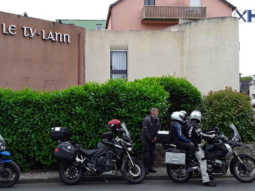 Le Ty-Lann, Logis motos