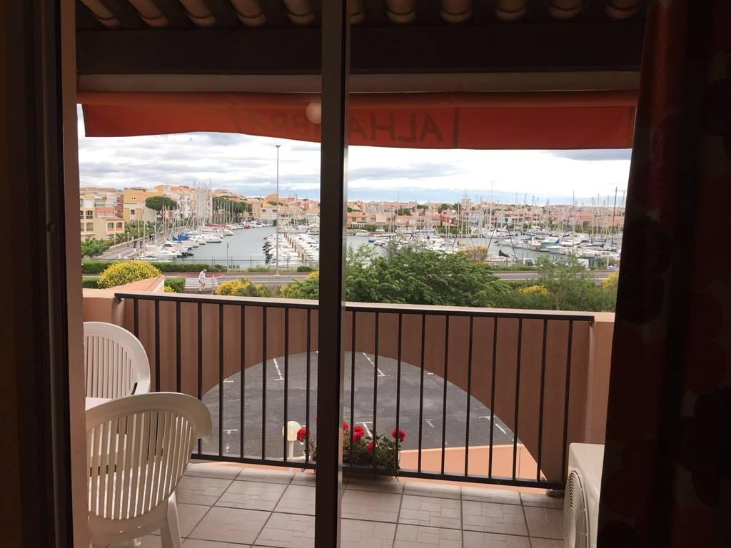 Hôtel Alhambra, chambre vue sur le port