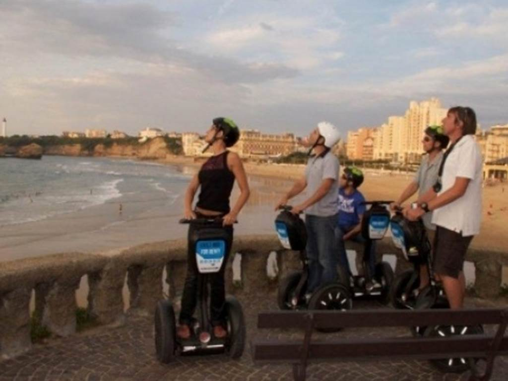 Plages Biarritz gyropode Segway