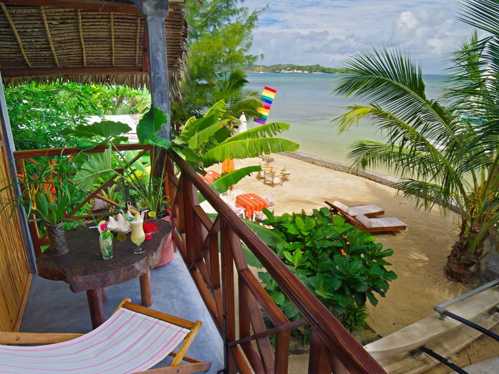 Terrasse Chambre Ocean Idylle Beach