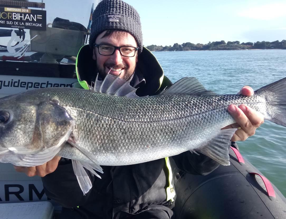 Un des plus gros Bar de la saison 2019 ...une journée de pêche historique !
