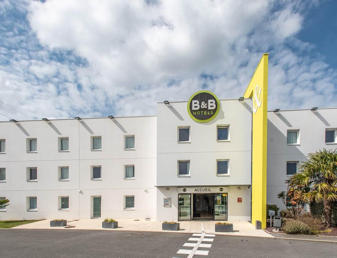 hotel bb vannes ouest golfe du morbihan_ vue extérieure_hotel hopital privé Océane Vannes _Hôtel Hôtel des ventes vannes