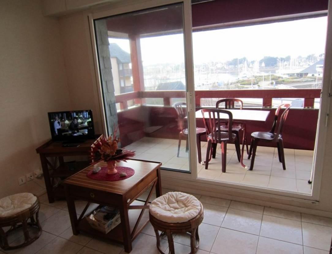 Séjour-terrasse-appartement-Vattier-Gérard-arzon-morbihan-bretagne sud