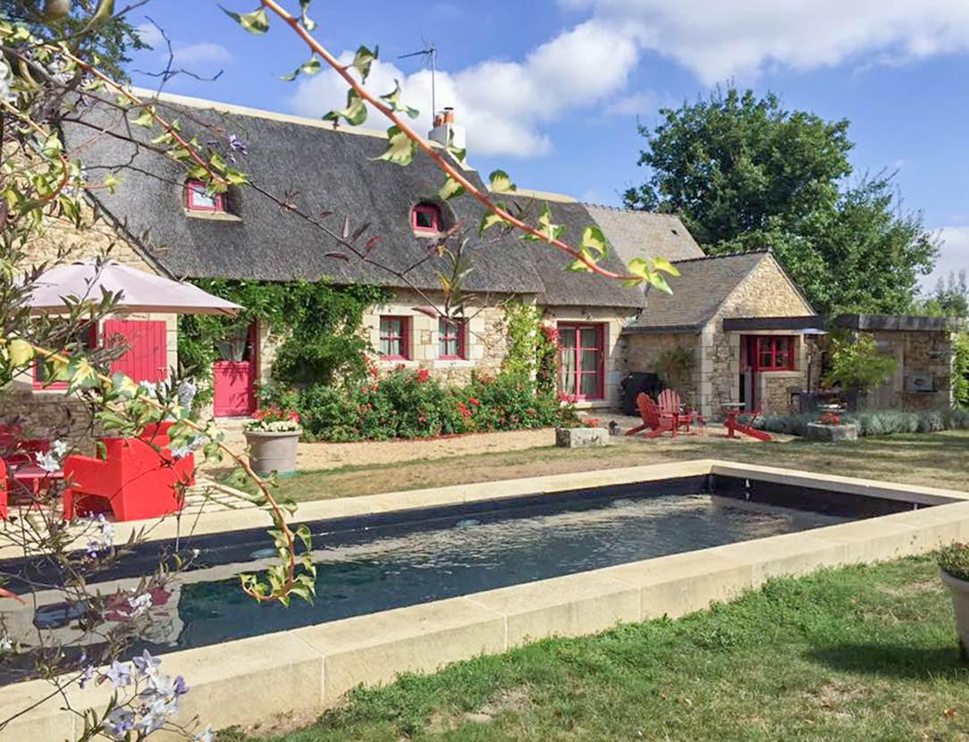 La Chaumière de Kersaux - Maison à Saint-Gildas de Rhuys - Presqu'île de Rhuys - Golfe du Morbihan
