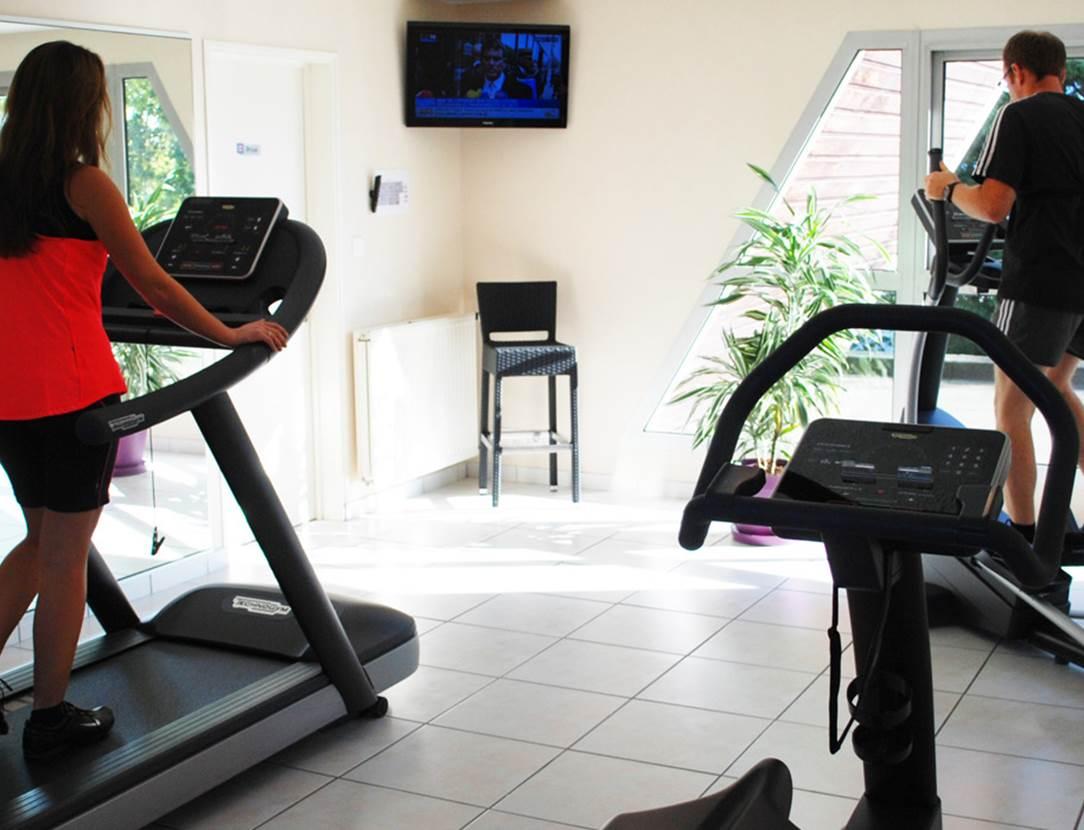 Salle de fitness - accès gratuit