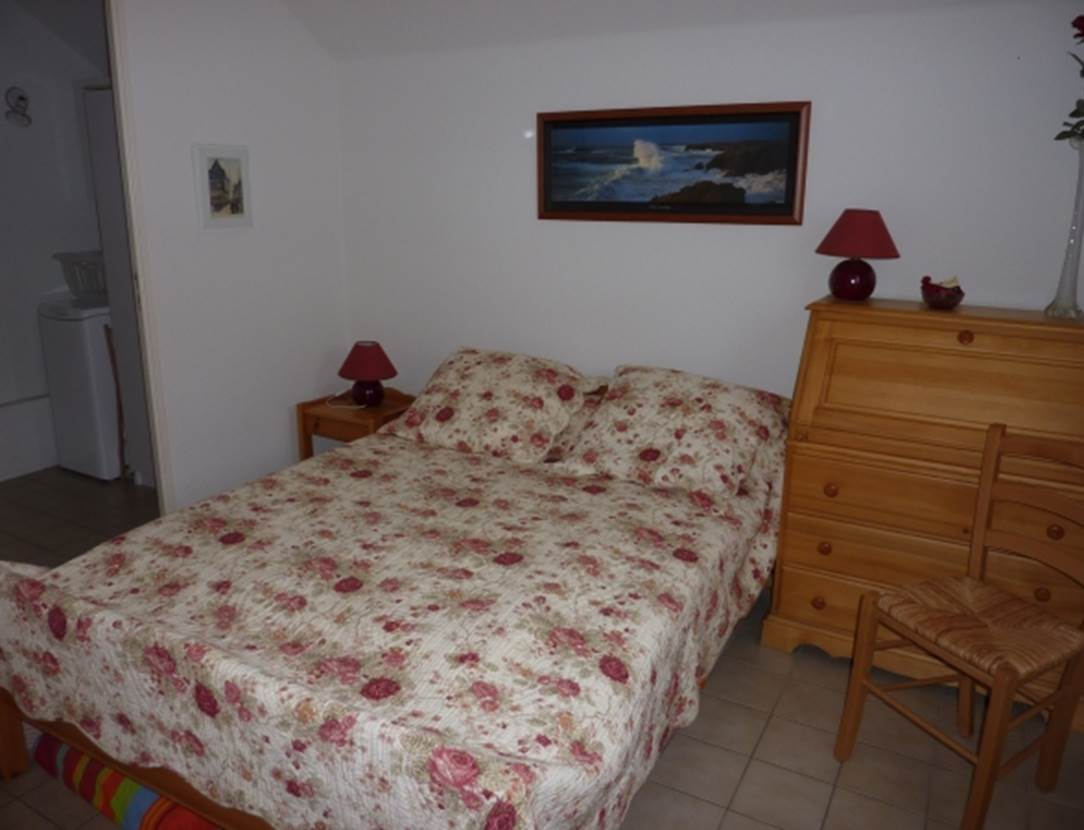 LE PAVEC Mireille - Maison Sarzeau chambre - Morbihan Bretagne Sud
