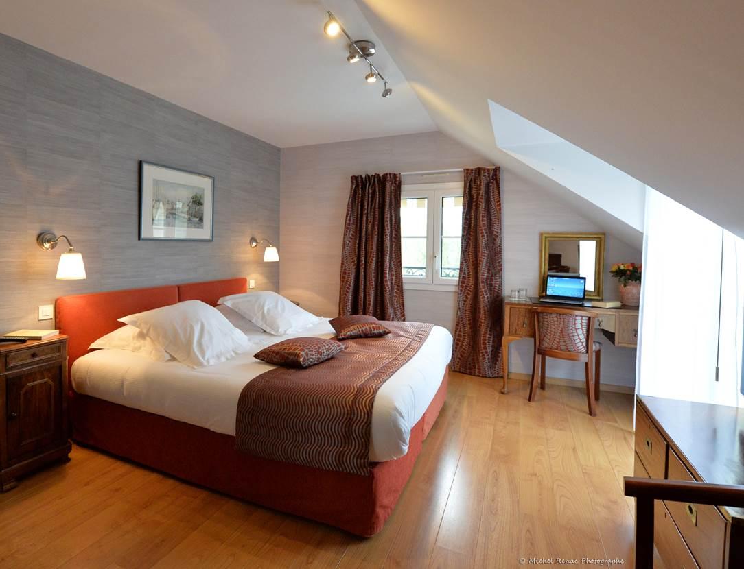 Hôtel-Le-Parc-er-Gréo-Suite-chambre 1-Arradon-Morbihan-Bretagne-Sud