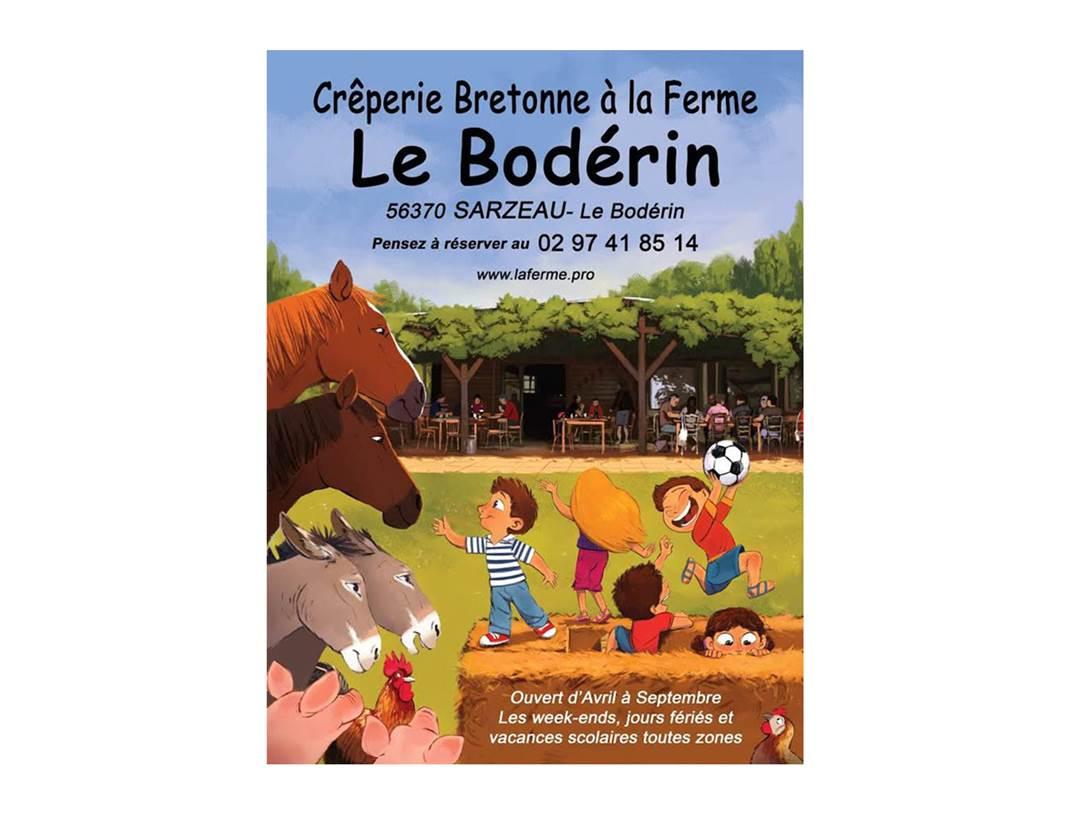 Crêperie-Bretonne-à-la-Ferme-Bodérin-Sarzeau-Presqu'île-de-Rhuys-Golfe-du-Morbihan-Bretagne sud