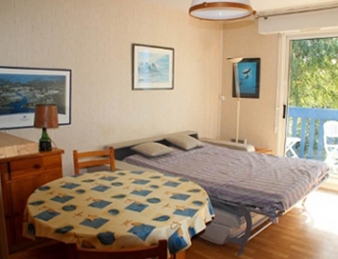 Couchage-appartement-Grégoire-Georges-arzon-morbihan-bretagne sud