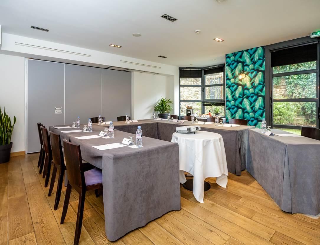 Salle séminaires hôtel restaurant Vannes Bretagne Sud