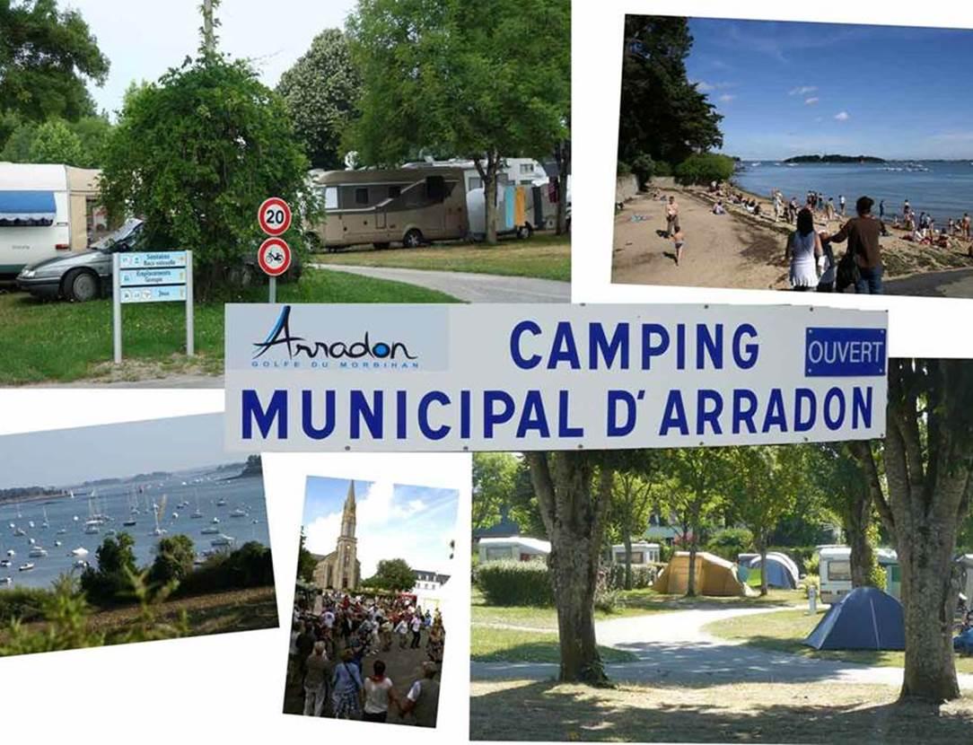CAMPING MUNICIPAL DE PARC PRIOL-Morbihan-Bretagne-Sud