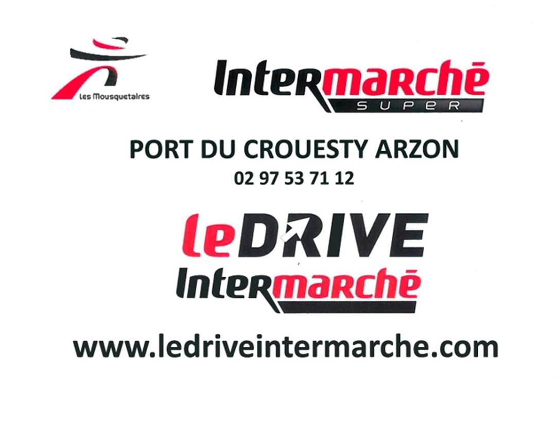 Logo-Drive-Intermarché-Arzon-Presqu'île-de-Rhuys-Golfe-du-Morbihan-Bretagne sud