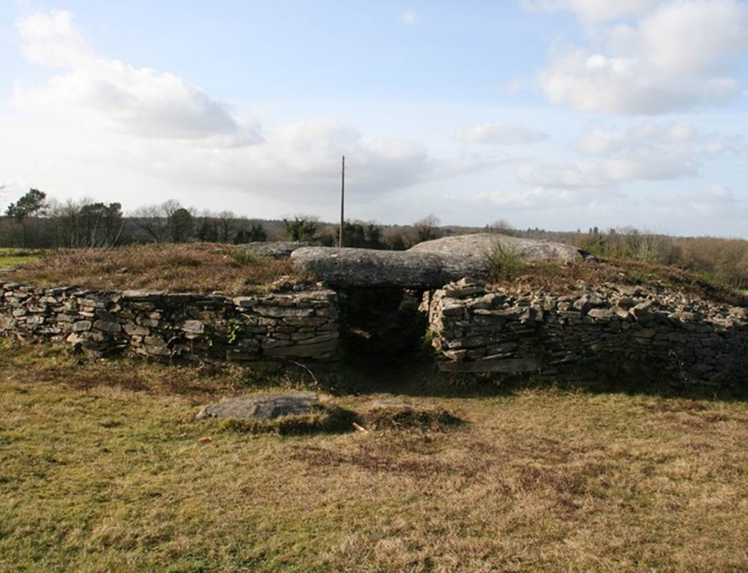 dolmen de Larcuste Morbihan bretagne-sud