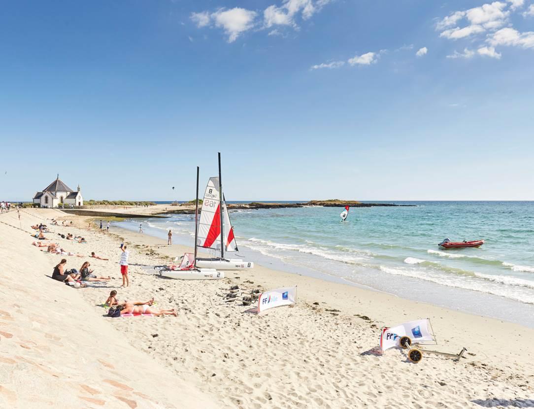 plage de Penvins à Sarzeau - Presqu'île de Rhuys - Golfe du Morbihan
