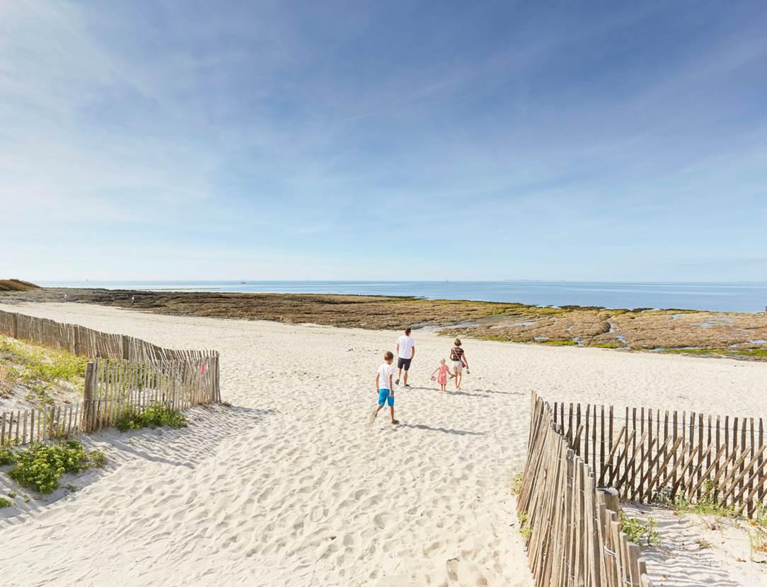 plage de Saint-Jacques à Sarzeau - Presqu'île de Rhuys - Golfe du Morbihan